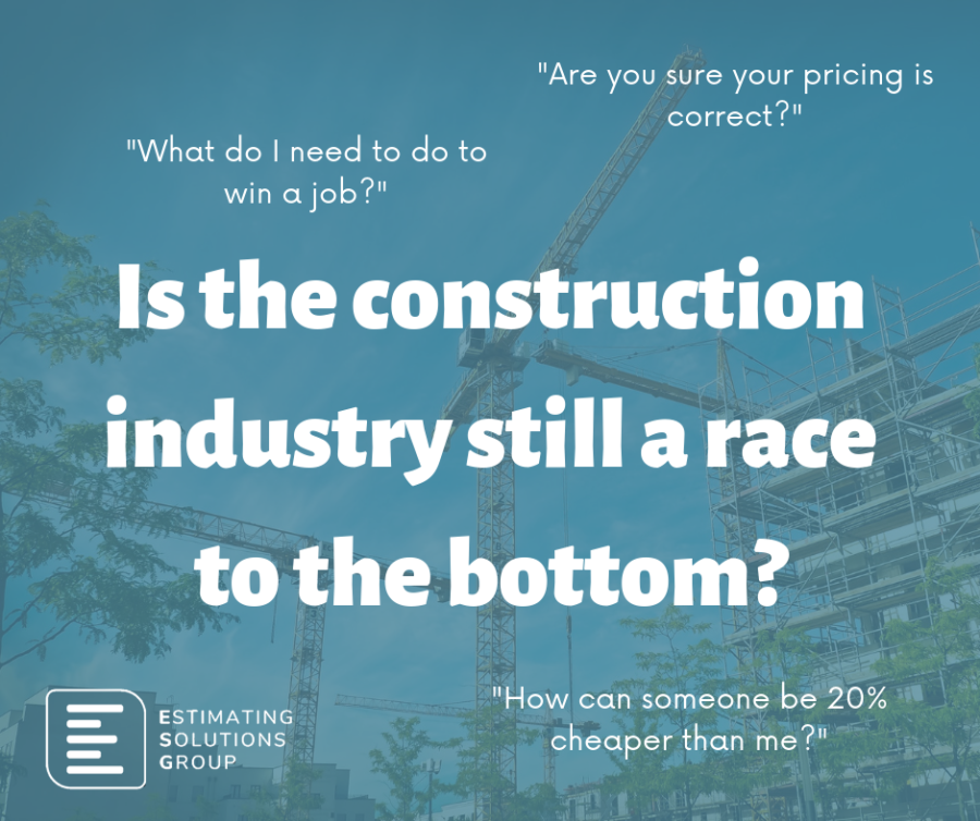 ESG Blog - Is the construction industry still a race to the bottom?