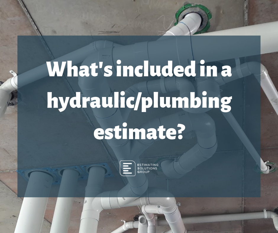ESG - Hydraulic/Plumbing Estimating Services