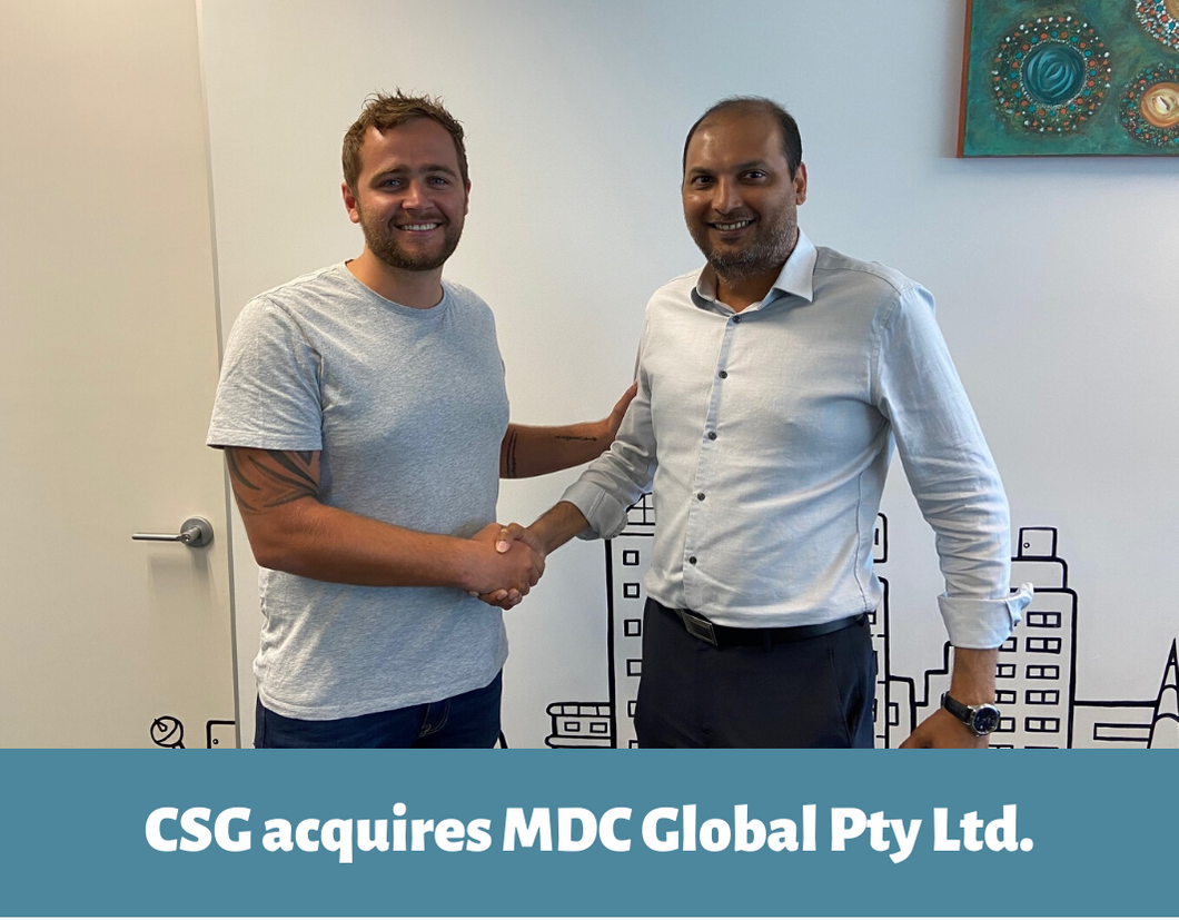 CSG acquires MDC Global Pty Ltd